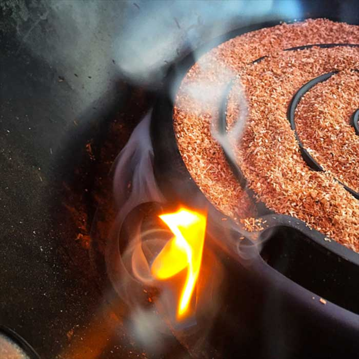 Affumicatoio a freddo weber per affumicare senza cuocere nel barbecue