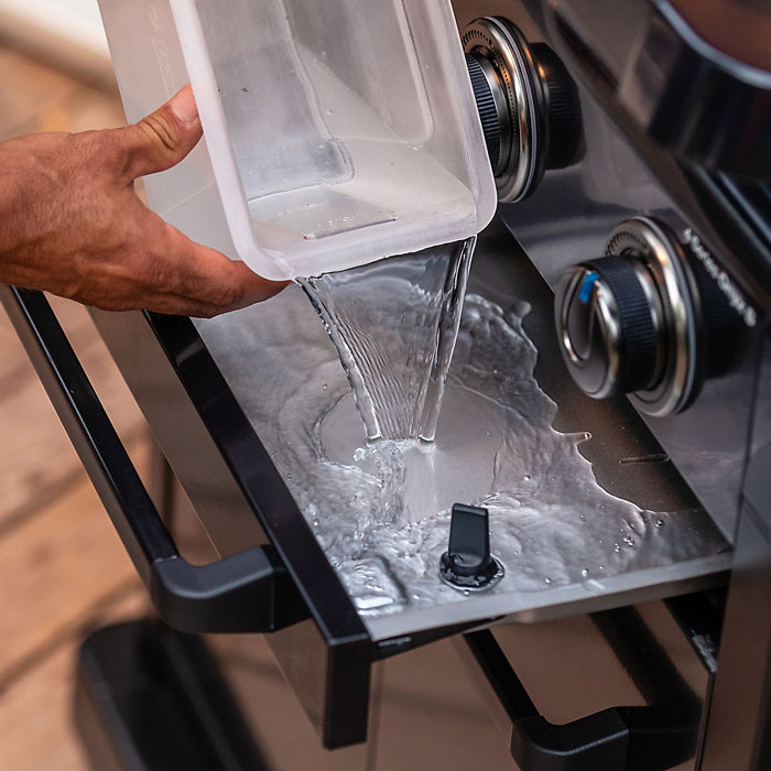 Sistema InstaClean barbecue a gas Campingaz