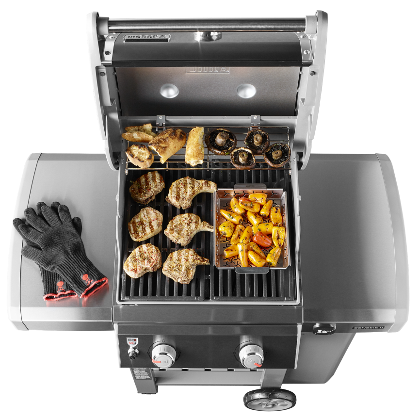 weber genesis ii e 210 gbs barbecuemania. Black Bedroom Furniture Sets. Home Design Ideas