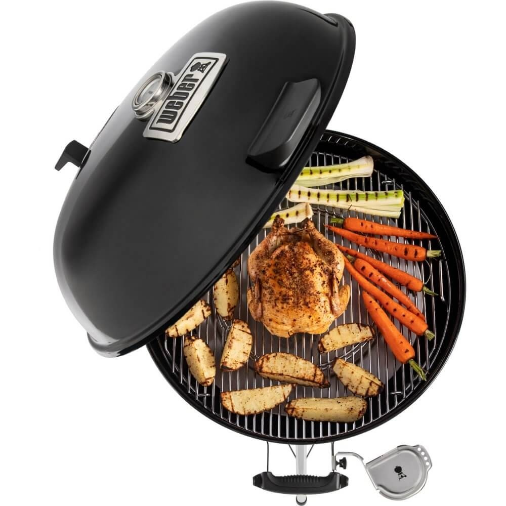 Barbecue a carbone weber master touch gbs