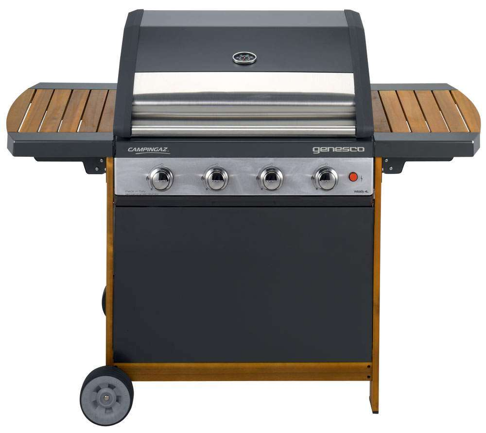 campingaz genesco 4 woody l barbecuemania. Black Bedroom Furniture Sets. Home Design Ideas